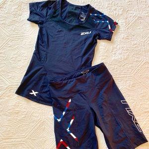 Patriotic Compression Performance Wear